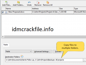 Copy Files Into Multiple Folders 5.0 Crack + Free Download For PC [2021]