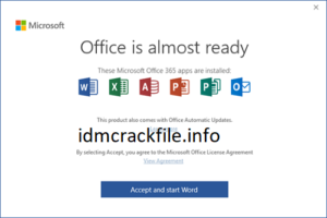 Microsoft Office 2016 Crack + Product Key Free Download [2021]