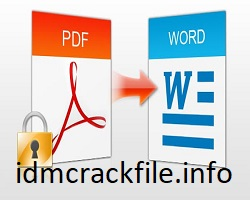 PDF To Word Converter 8.1.2.2 Crack + Full Version Free Download [2021]