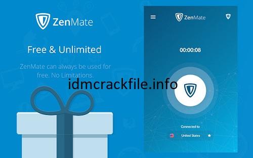 ZenMate VPN 7.6.0.0 Crack + Activation Key Free Download [2021]