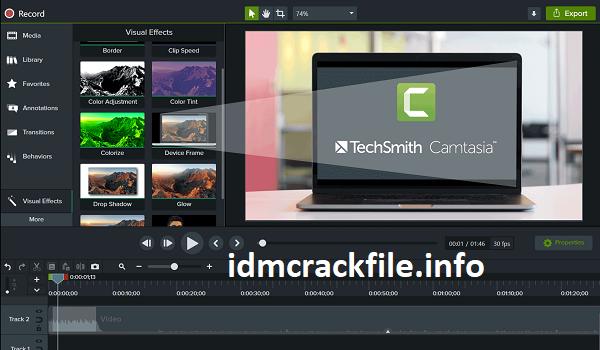 Camtasia Studio 2021.0.3 Crack With Serial Key Free [Latest]