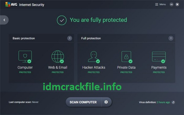 AVG Internet Security 21.4.6266.0 Crack + Activation Code Free 2021