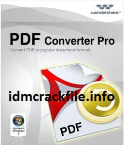 Wondershare PDF Converter Pro 5.1.0 Crack With Key 2021