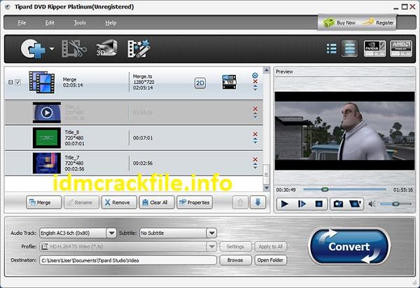 Tipard DVD Ripper 10.0.30 Crack Plus Registration Code 2021