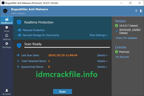 RogueKiller 14.8.6.0 Crack Plus Serial Key Free Download